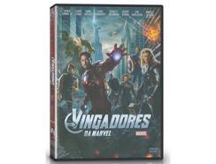 DVD Os Vingadores da Marvel