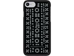 Capa TRUSSARDI Stitches iPhone 7, 8 Preto