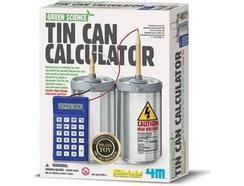 Construção 4M Green Science: Tin Can Calculator (Idade Mínima: 6)