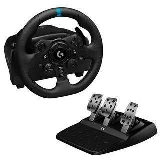 Volante + Pedais G923 TrueForce Racing PS5/PC Preto