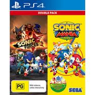 JG. PS4 SONIC MANIA & SONIC FORCES DOUBL