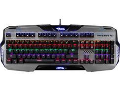 Teclado Mecânico Gaming E-BLUE Mazer Cinzento