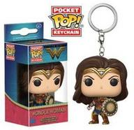 Porta-Chaves FUNKO Pocket Pop! Wonder Woman Movie