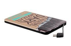Power Bank T'nB Slim 4000mAh – Chocolate Design