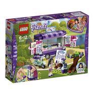 A Banca de Arte da Emma Lego Friends