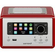 Rádio Sonoro RELAX Bluetooth – Vermelho