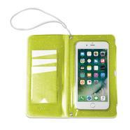 Capa Celly SplashWallet para Smartphones até 6 2 – Amarelo