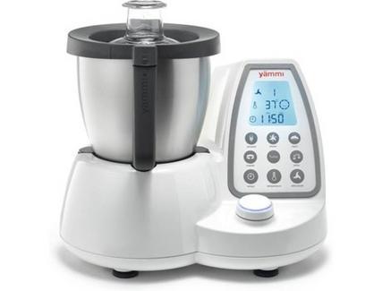 Robô de Cozinha YÄMMI 2 Upgrade + Bandeja + 1 Livro de Receitas (3.3 L – 1500 W – 12 acessórios)