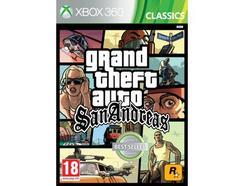 Jogo XBOX 360 Grand Theft San Andreas Classic