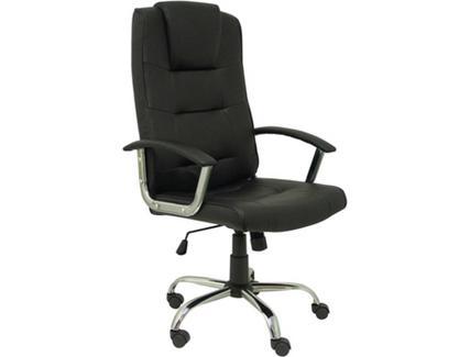 Cadeira de Escritório Executiva PIQUERAS Y CRESPO Guadalimar Preto (Pele Sintética)