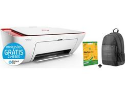 Impressora Multifunções HP DJ 2633+Mochila+Norton
