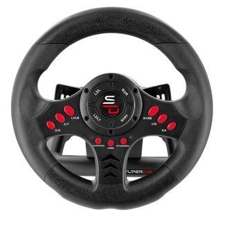 Volante + Pedais Subsonic Racing Wheel Universal (Multiplataforma)