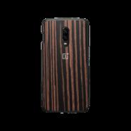 Capa OnePlus 6T Ebony Wood Bumper Case