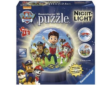 Puzzle 3D RAVENSBURGER Patrulha Pata