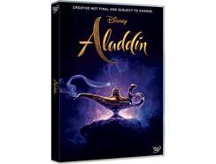 DVD Aladdin (De: Guy Ritchie – 2019)(capa provisória)