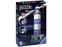 Puzzle 3D RAVENSBURGER Farol (Night Edition)