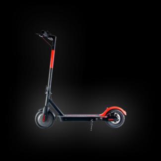 """Trotinete Elétrica OLSSON Arrow 8.5"""" Preta e Vermelha (Autonomia: 25 km / Velocidade Máx: 25 km/h)"""