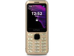"Telemóvel MYPHONE Maestro (2.8"" – 2G – Dourado)"