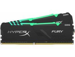 Memória RAM DDR4 KINGSTON HyperX Fury (2 x 16 GB – 2400 MHz – CL 15 – RGB)