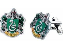 Botões de Punho HARRY POTTER Brasão Slytherin