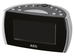 Rádio Despertador Projetor AEG MRC 4119