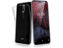 Capa Nokia 6.1 Plus SBS Skinny Transparente