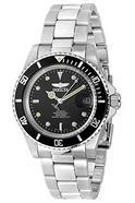 Relógio automático Invicta 8927OB Pro Diver com mostrador preto e bracelete em aço inoxidável