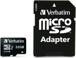 Verbatim MicroSDHC Pro 32GB Class 10 UHS-I com Adaptador