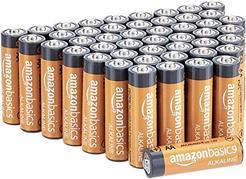 Pilhas AmazonBasics Alcalinas AA 48 unidades