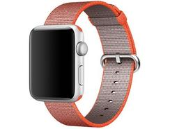 Bracelete Nylon Apple para Apple Watch 42mm – Laranja Sideral | Antracite
