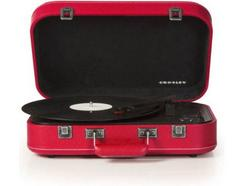 Gira-Discos BT CROSLEY Coupe Vermelho