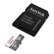 SanDisk Ultra microSDXC C10 64GB + Adaptador SD
