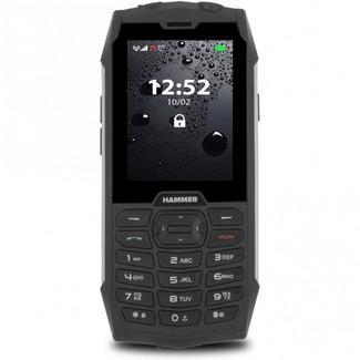 "Telemóvel MYPHONE Hammer 4 (2.8"" – 2G – Prateado)"