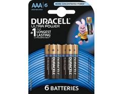 Pilhas DURACELL Ultra AAA K6