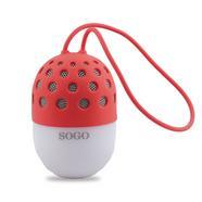 Coluna Bluetooth SOGO ALT-SS-8245-R (Vermelho – Alcance: 10 m)