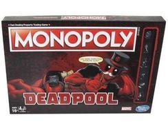 Jogo de Tabuleiro Monopoly (Edição Deadpool)