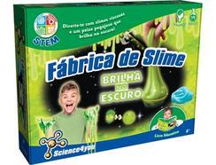 Jogo SCIENCE4YOU Fábrica de Slime – Brilha no Escuro