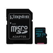 Kingston Canvas Go 90R/45W U3 UHS-1 microSDXC V30 128GB CL10 + Adaptador SD