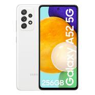 """Smartphone SAMSUNG Galaxy A52 5G 6.5"""" 8GB 256GB – Branco"""