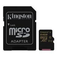 Kingston Gold microSDXC UHS-I U3 64GB + Adaptador SD