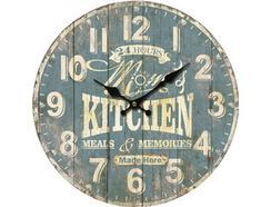 Relógio Parede BHP B991431 Kitchen Azul