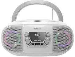 Rádio Boombox FONESTAR Boom Go (Branco – Digital – Bluetooth)