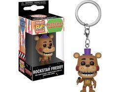 Porta-Chaves FUNKO Pocket Pop! FNAF Pizza Sim – Rockstar Freddy