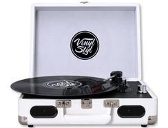 Gira-Discos VINY STYL Groove Portable 3 Branco