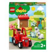 LEGO Duplo Town: Trator Agrícola e Cuidar dos Animais