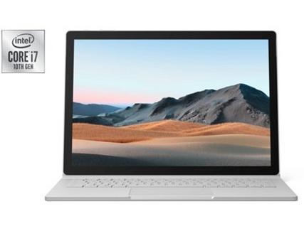 "MICROSOFT Surface Book 3 (13.5"" – Intel Core i7-1065G7 – RAM: 16 GB – 256 GB SSD – NVIDIA GeForce GTX 1650)"