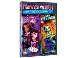 DVD Monster High Choque de Culturas + A Fuga da Ilha da Caveira