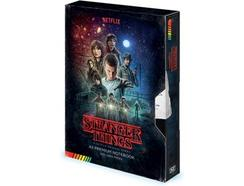 Caderno SUPERPLAY INTERNATIONAL Stranger Things Premium A5 VHS