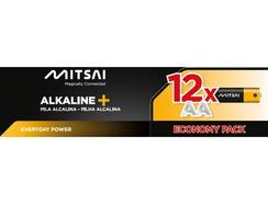 Pilhas Não Recarregáveis MITSAI LR6 (AA – 12 Unidades)