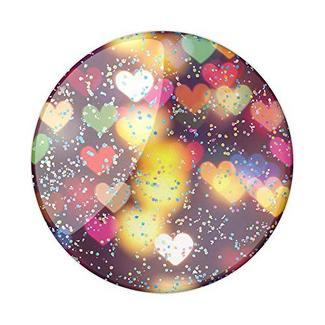 Suporte POPSOCKET Glitter Bokeh Hearts